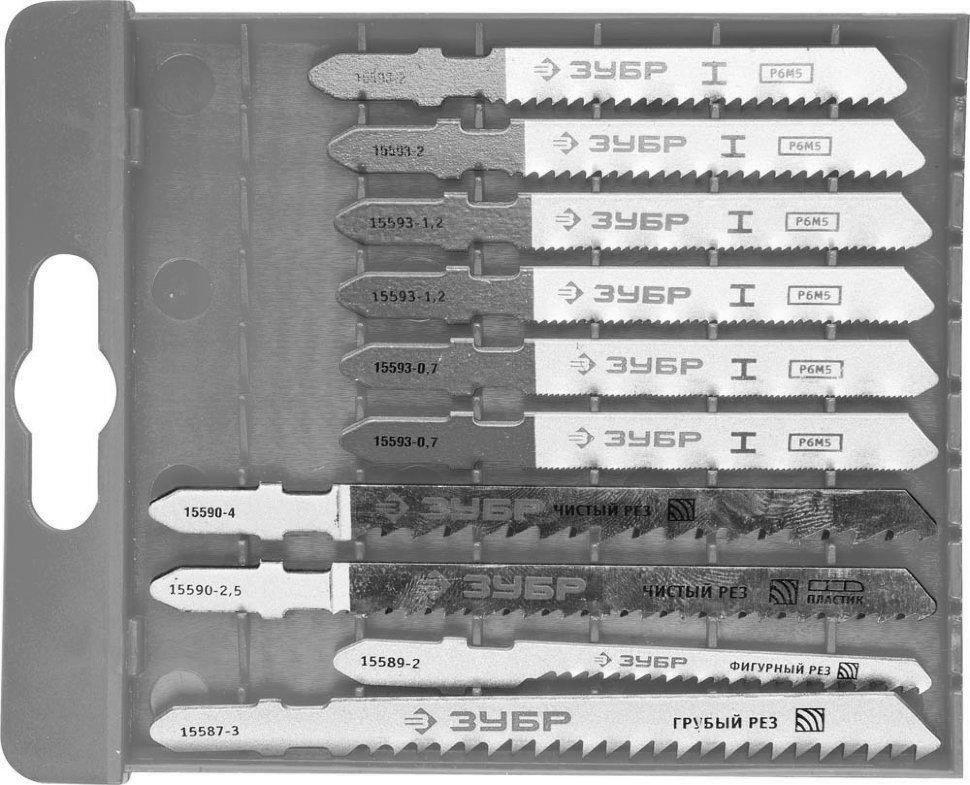 Какие существуют виды и особенности пилок для электролобзика
