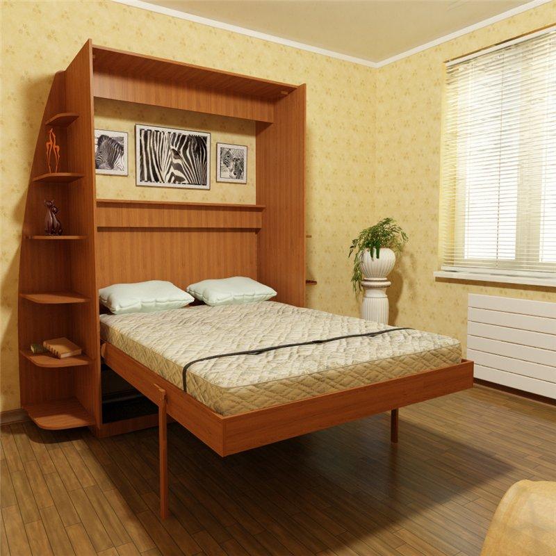 Кровать с подъёмным механизмом своими руками: инструкция по сборке