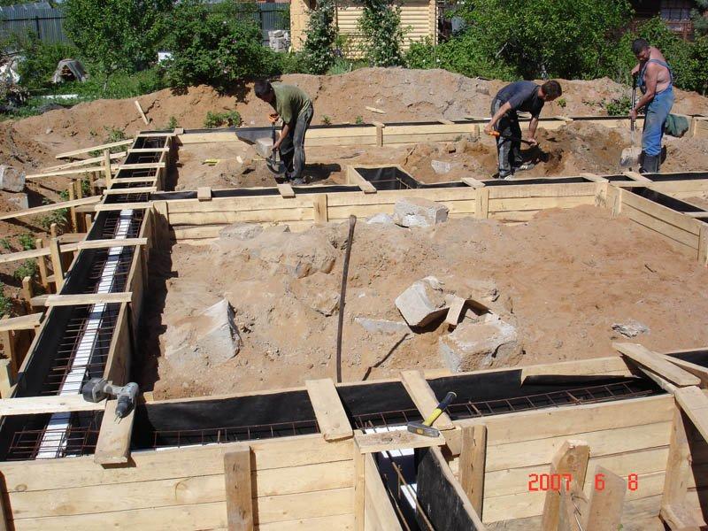 Этапы строительства частного дома: с чего правильно начинать