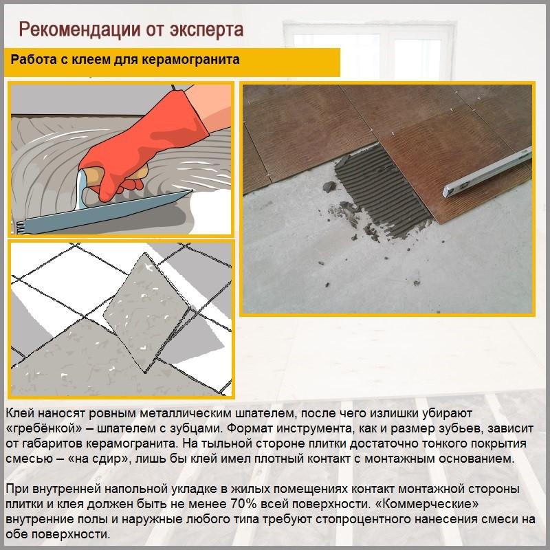 Керамический гранит: характеристики, область применения и свойства