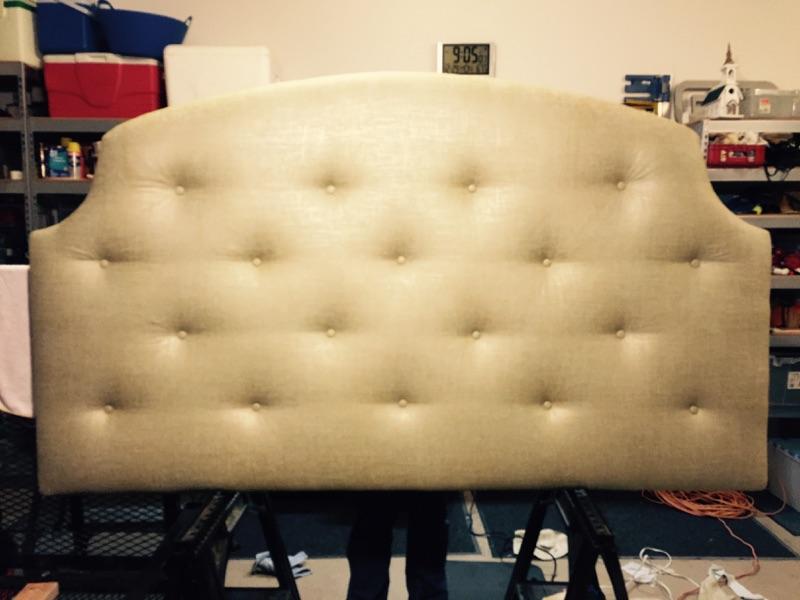 Мастер класс: как сделать фигурное изголовье кровати