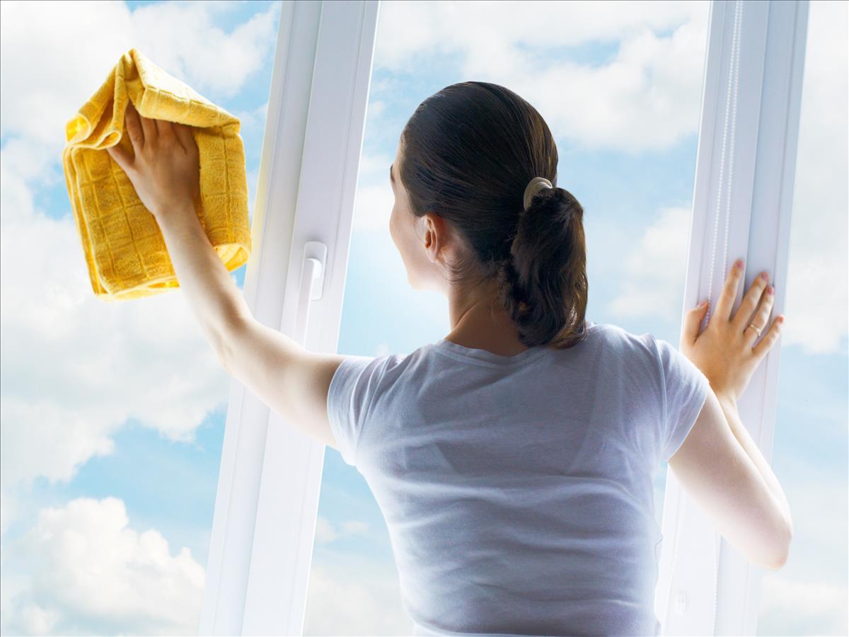 Как помыть чисто окна без разводов