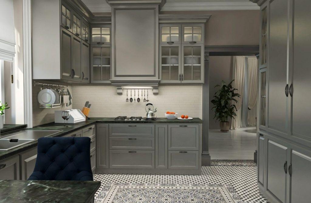 Гармония бело-серой кухни: уют от стиля к стилю