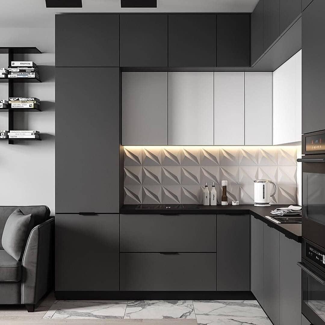 Мебель для маленькой кухни: 70 фото-идей