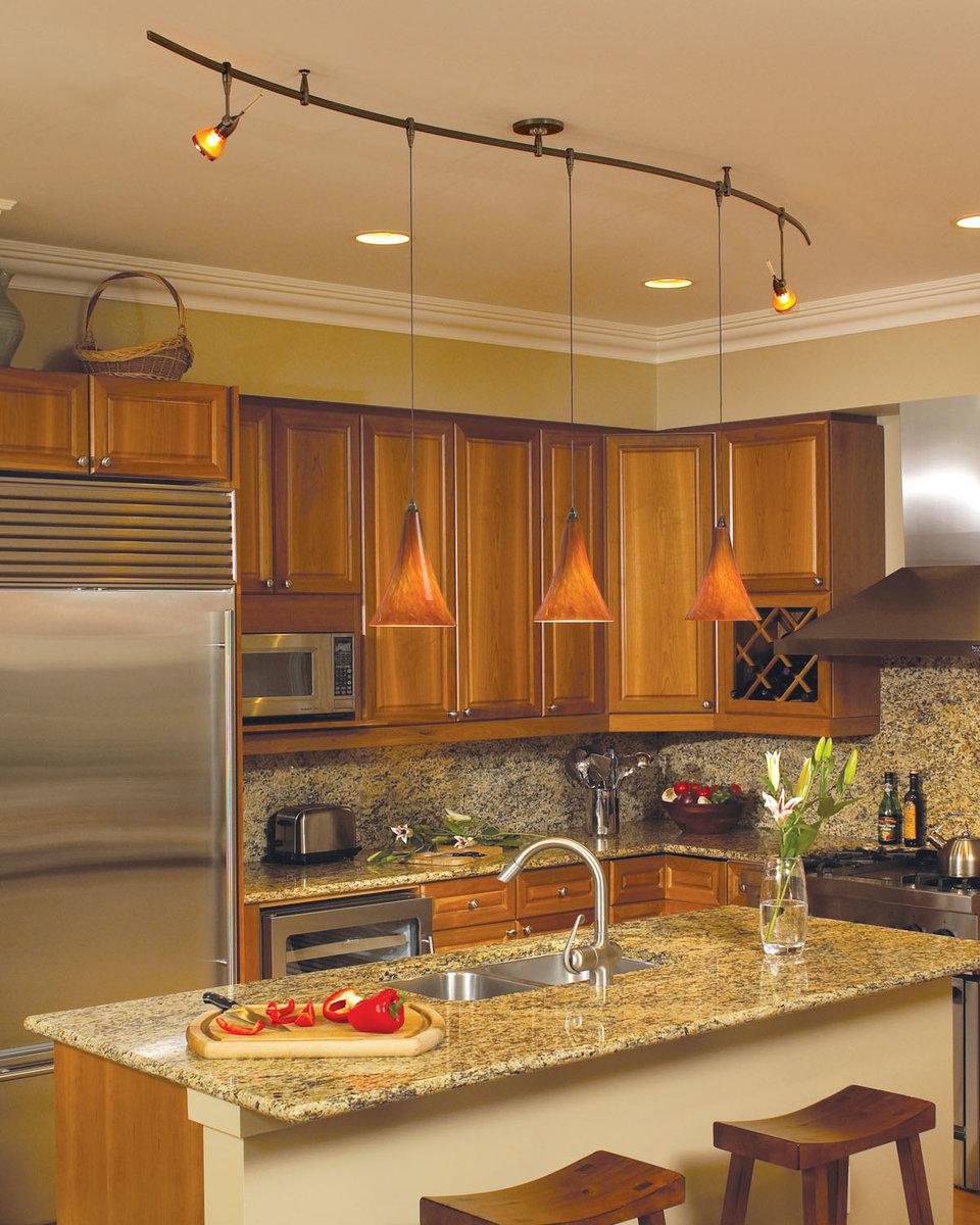 Светильники для кухни – освещение рабочей поверхности, особенности подбора и установки (90 фото)