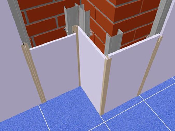 Инструкция по внутренней отделке стен панелями из пластика пвх