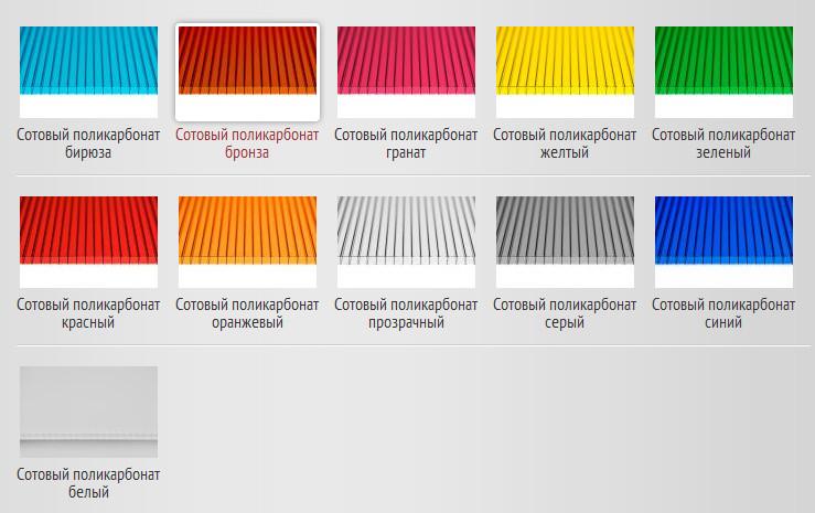 Достоинства и применение рифленого поликарбоната