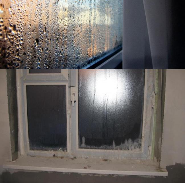 Почему потеют пластиковые окна в квартире?