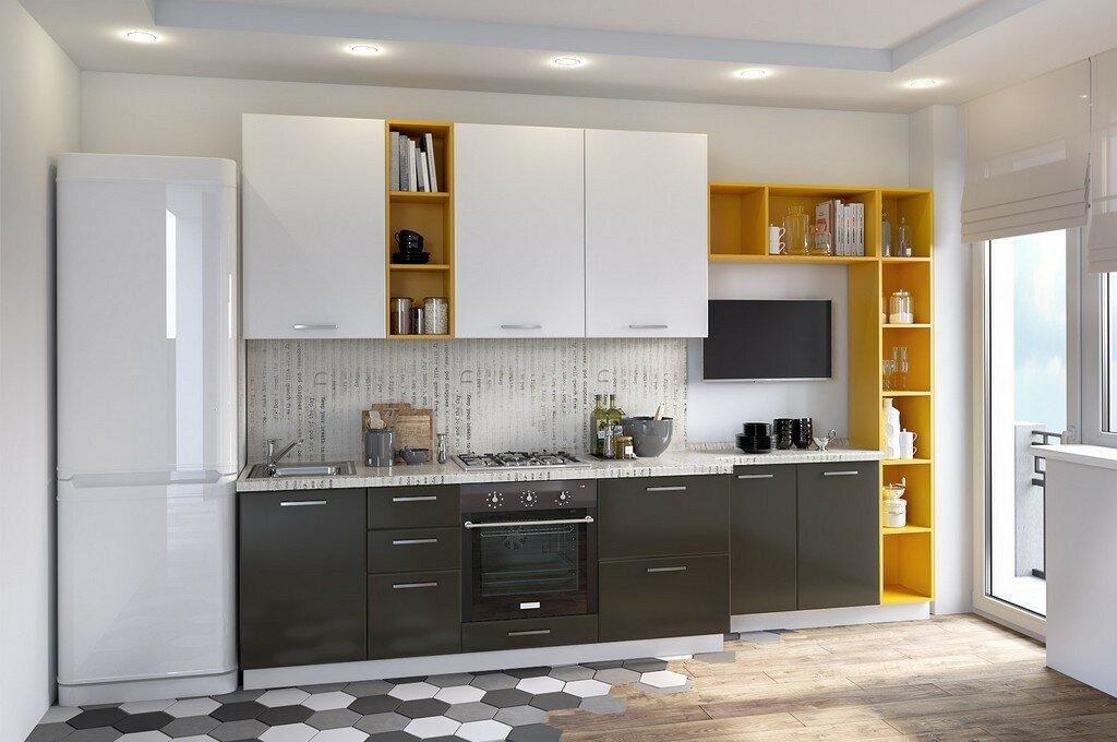 75 интересных идей дизайна большой кухни с фото