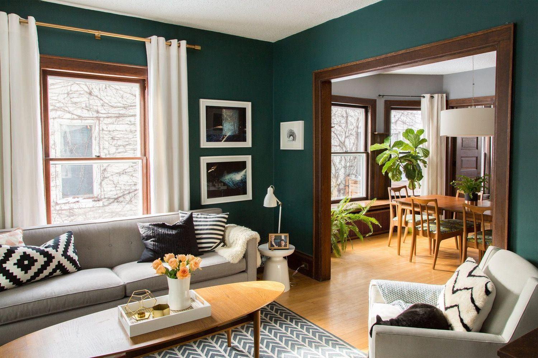 60+ идей сочетания зеленого цвета в интерьере: правила оформления и цвета-партнеры