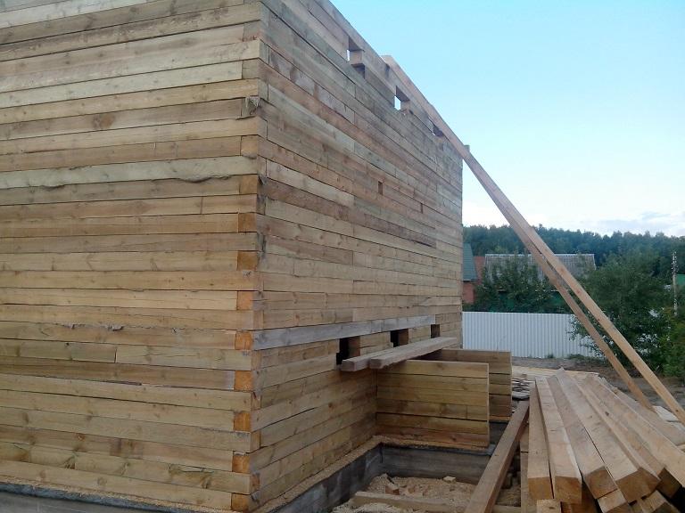 Выбор лучшего типа бруса для строительства жилого дома