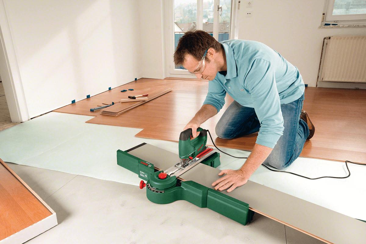 Как и чем резать ламинат - обзор способов, советы по использованию инструментов