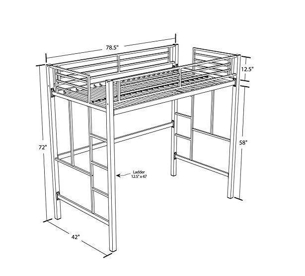 Отличная идея для маленькой квартиры: кровать-чердак своими руками