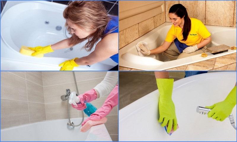 Чем мыть акриловую ванну в домашних условиях? советы по мытью подручными и специальными средствами