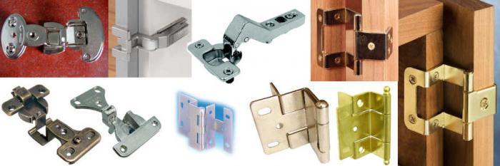 Как правильно выбрать петли для межкомнатных дверей