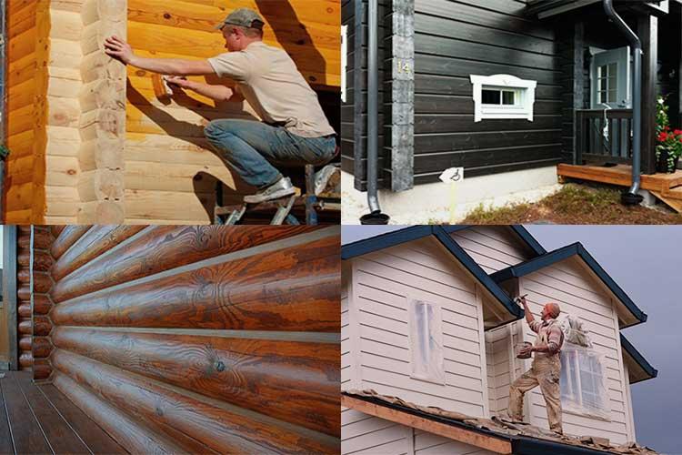 Чем снаружи покрасить деревянный дом: как выбрать цвет и краску