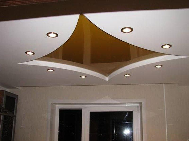 Потолок из гипсокартона — оформляем по уму! обзор красивого и современного дизайна на 90 реальных фотографиях