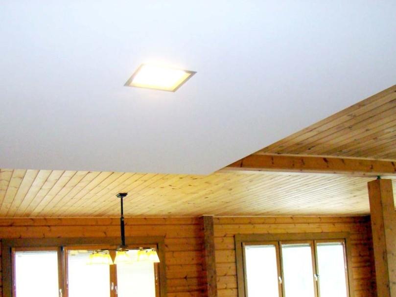 Чем обшить потолок в деревянном доме из бруса: как лучше в частном, материалы и фото