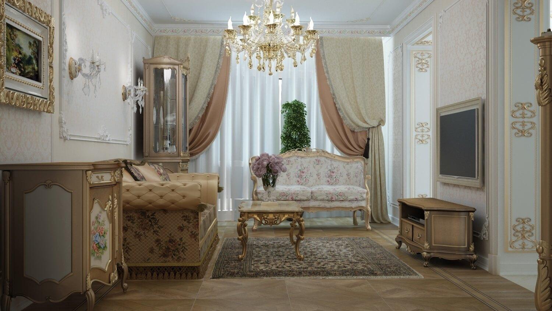 Стиль дома барокко внутри и снаружи: интерьер, дизайн и отделка