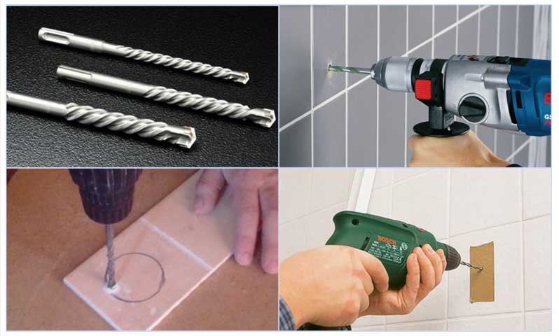 Как сверлить керамическую плитку - подбираем инструмент и сверлим по всем правилам