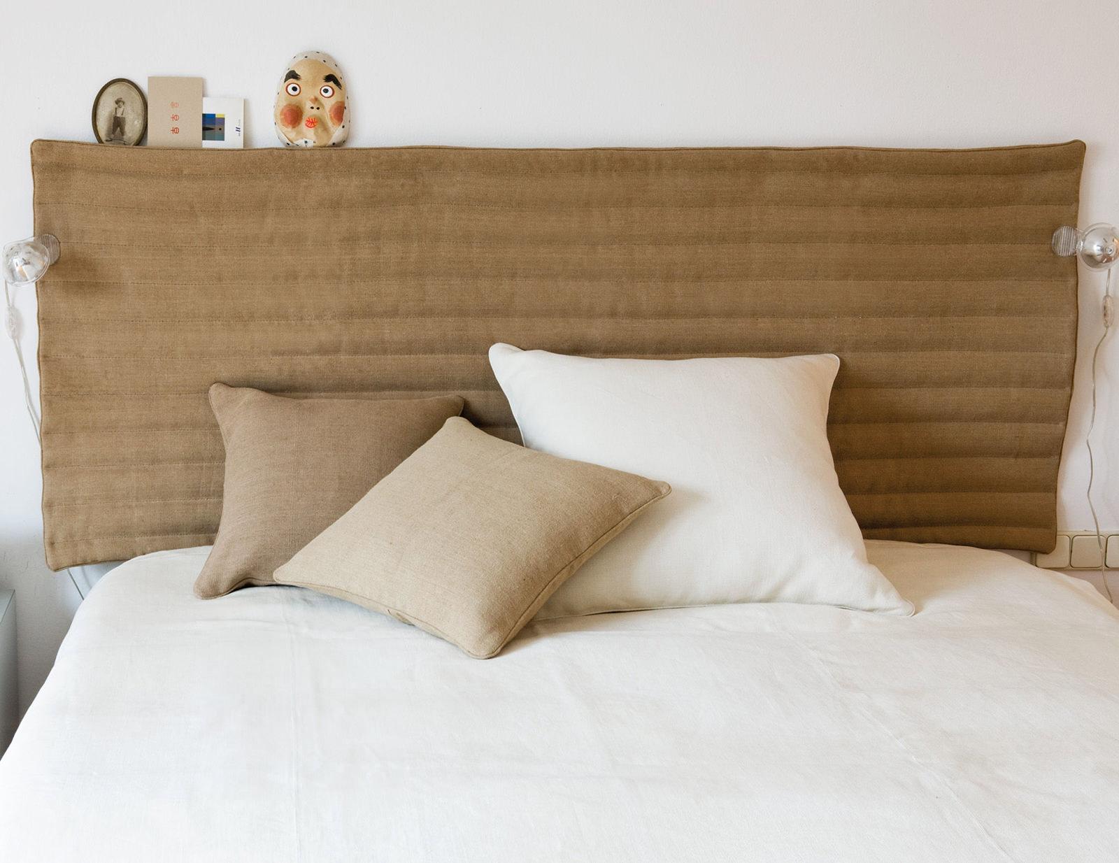 Как сделать изголовье кровати своими руками?