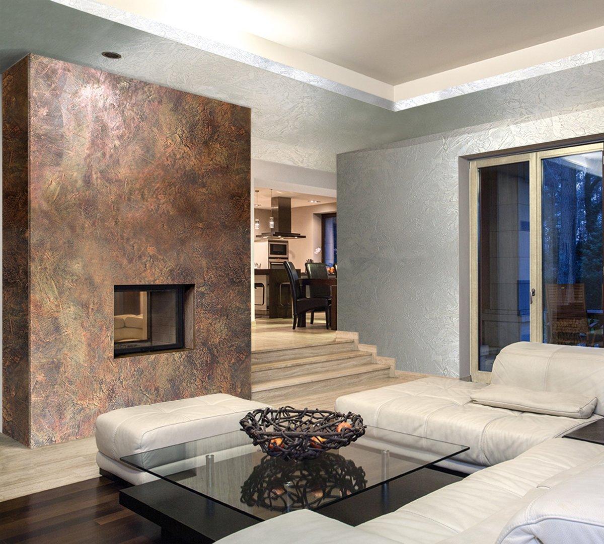Декор стен в квартире: украшение декоративной штукатуркой и стеновыми панелями, фото