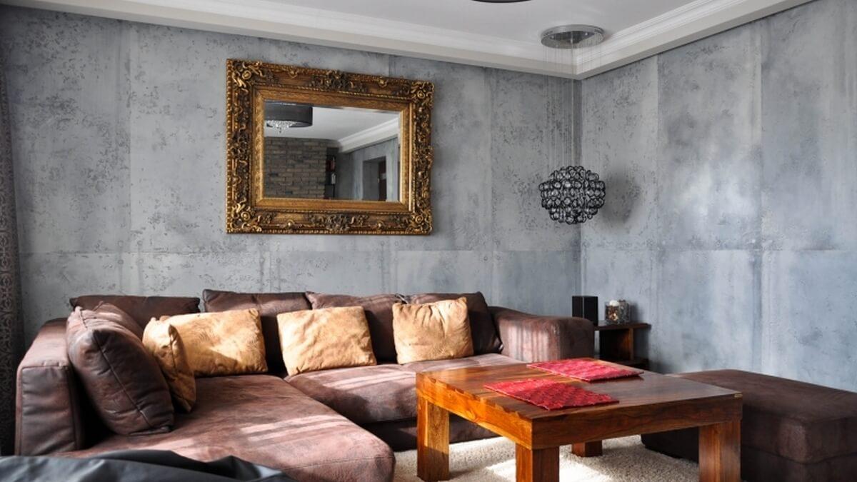 Штукатурка в интерьере квартиры: выбор материала для декоративной отделки стен, фото