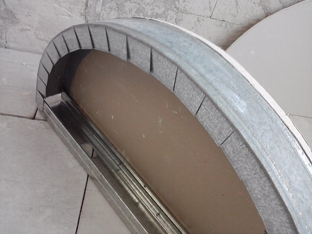 Углы в конструкции из гипсокартона