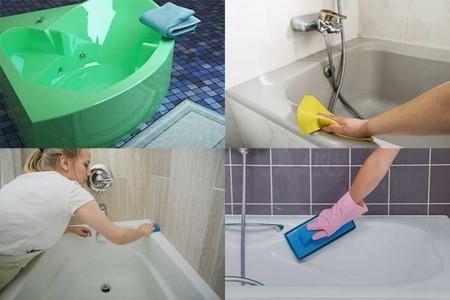 5 средств, с которыми чистка акриловых ванн проходит на раз два. личный опыт! | советы хозяюшкам