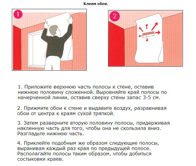 Как правильно поклеить обои на стену своими руками