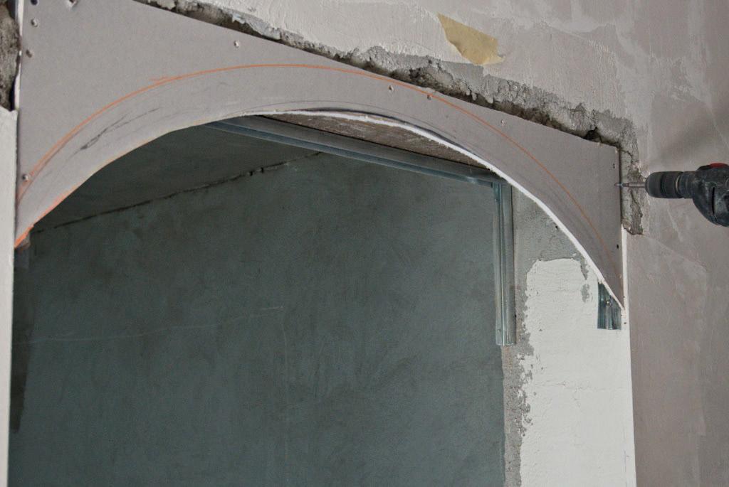 Как своими руками сделать арку из гипсокартона: описание и пошаговая инструкция