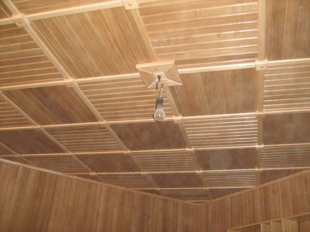 Чем лучше обшить потолок в частном деревянном доме и выбор материалов