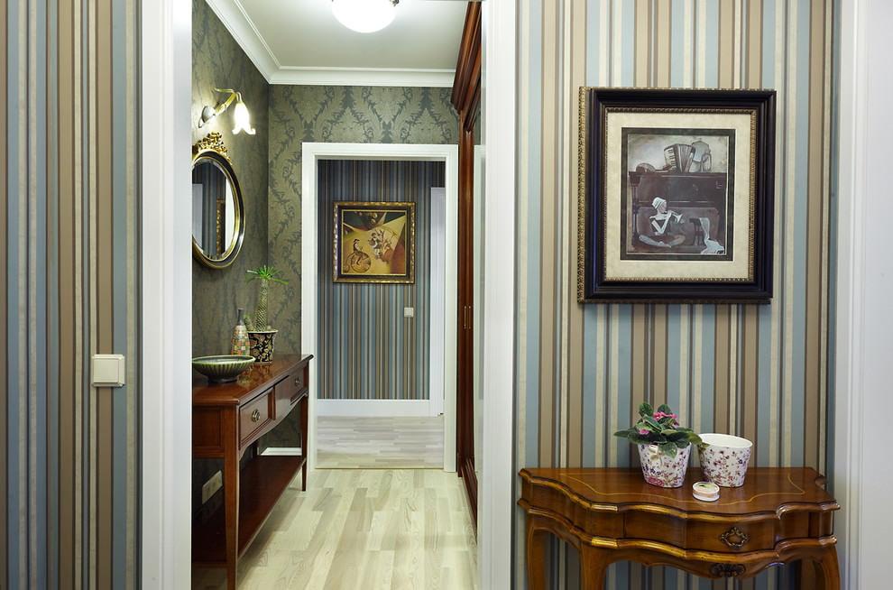 Какие обои выбрать для прихожей или коридора в квартире - самые важные аспекты