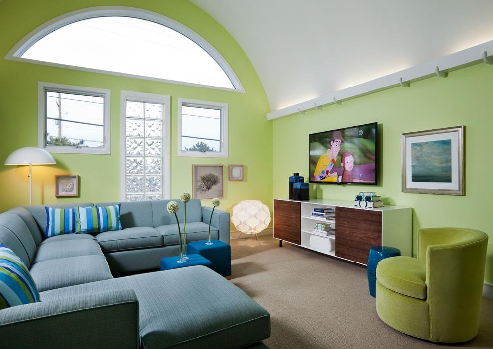 Гармоничное сочетание цветов в интерьере квартиры - часть 3