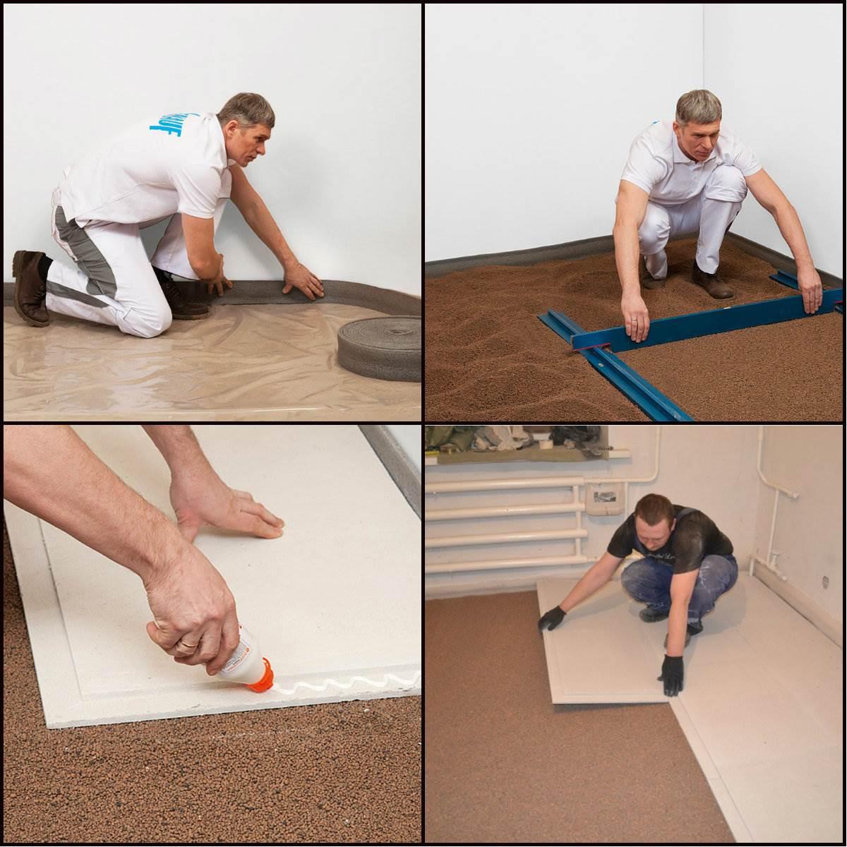 Как подготовить пол под ламинат - инструкция и советы!