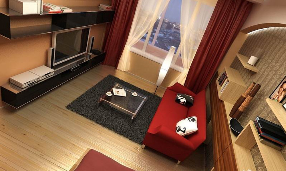 Оформления интерьера квартиры в стиле хай-тек