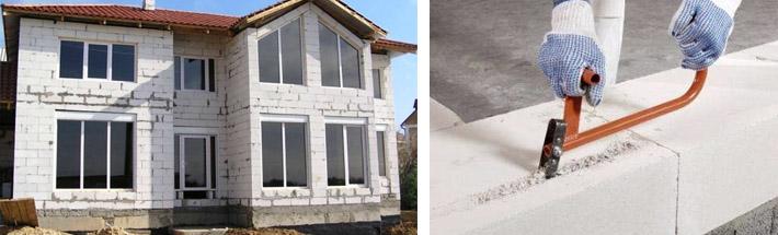 Дом из газобетона: плюсы и минусы. проекты и строительство домов