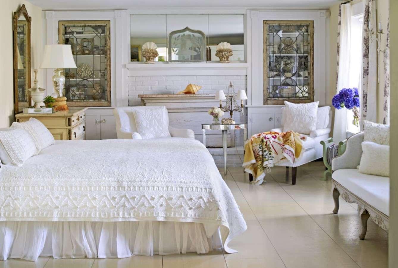 По-домашнему уютно: 86 фото-идей дизайна спальни в стиле прованс