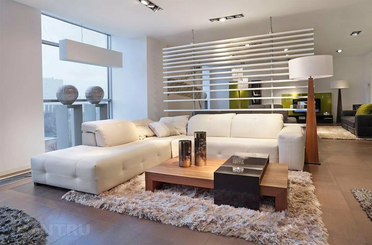 Современный дизайн интерьера в стиле контемпорари