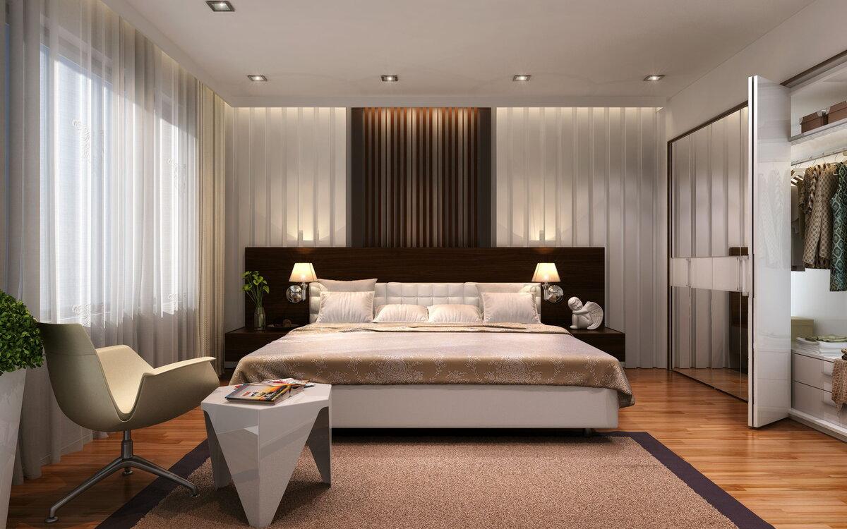 Интересное решение для небольших помещений — кровать-подиум