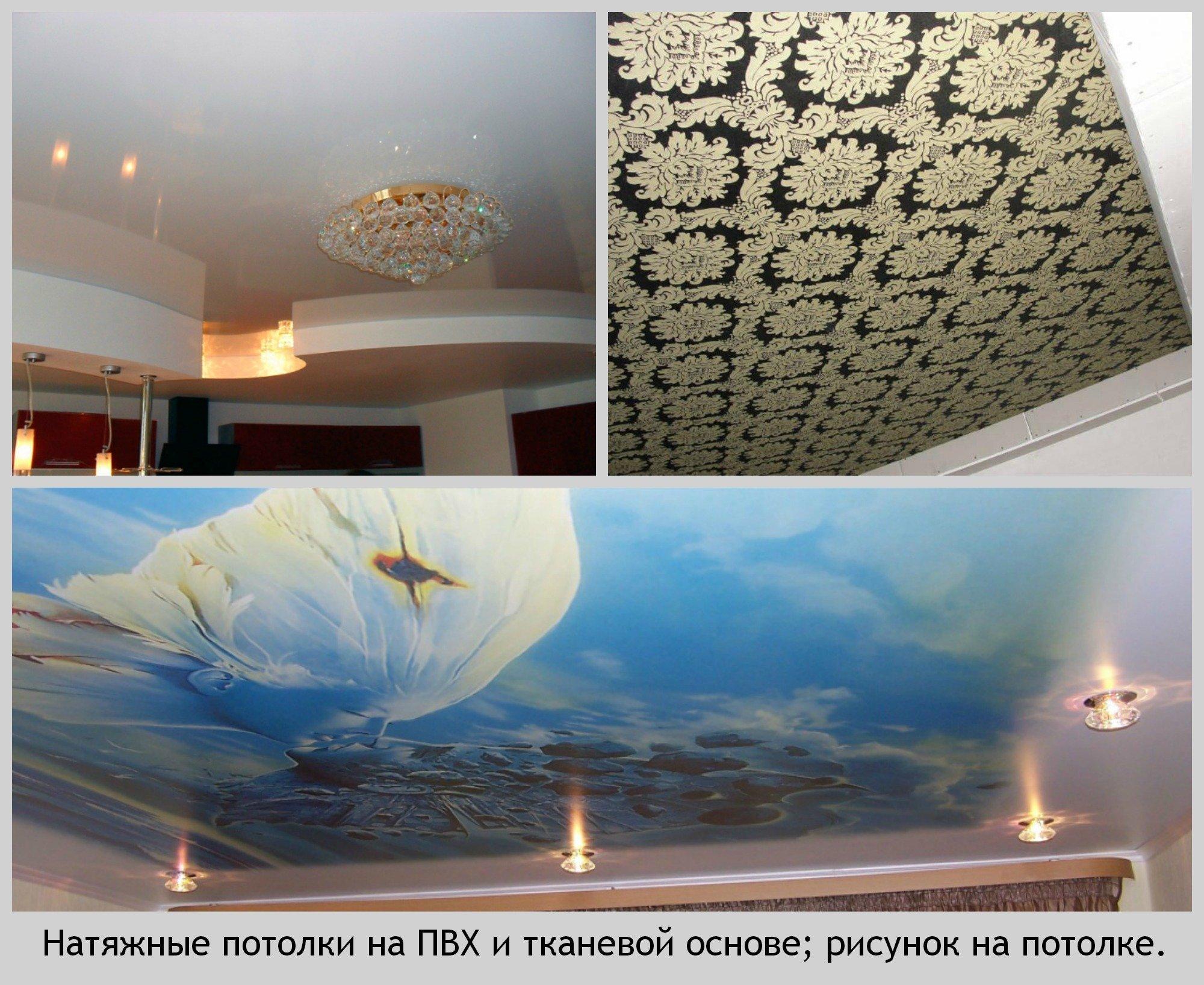 Тканевые натяжные потолки – особенности, плюсы и минусы