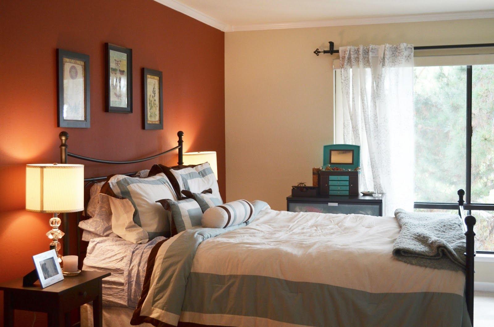 Спальная комната в голубом цвете — варианты дизайна
