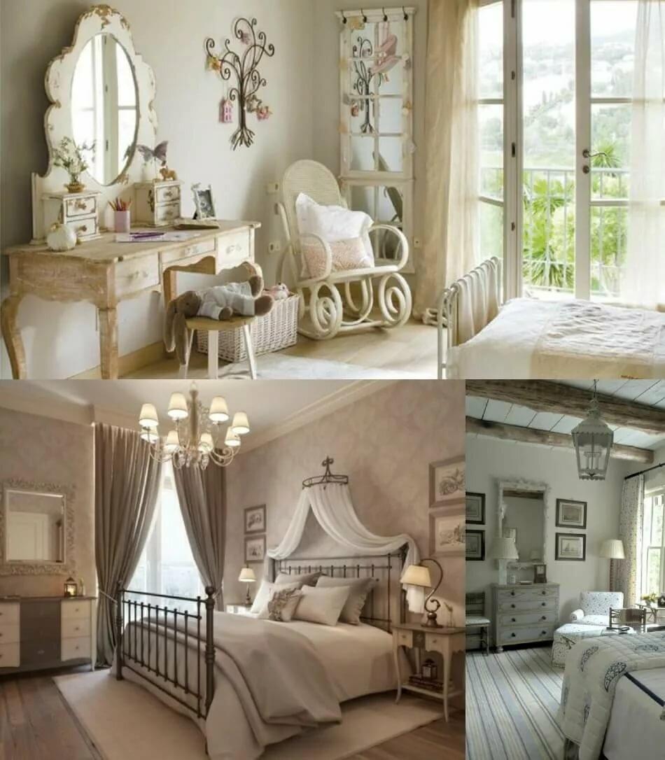 Спальня в стиле прованс. дизайн интерьера своими руками