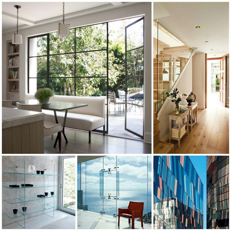 5 идей применения стеклянных витражей в интерьере квартиры