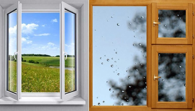 Какие окна лучше выбрать – деревянные или пластиковые?