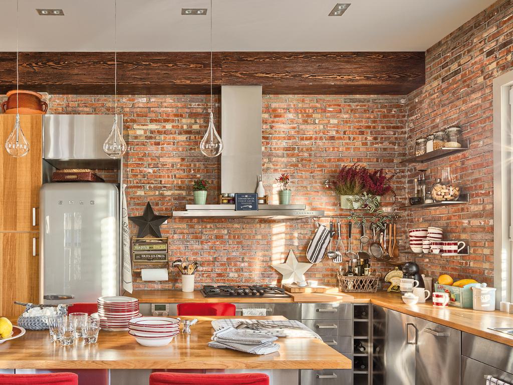 Отделка стены на кухне (86 фото): чем можно лучше отделать, отделочные материалы для рабочей стены