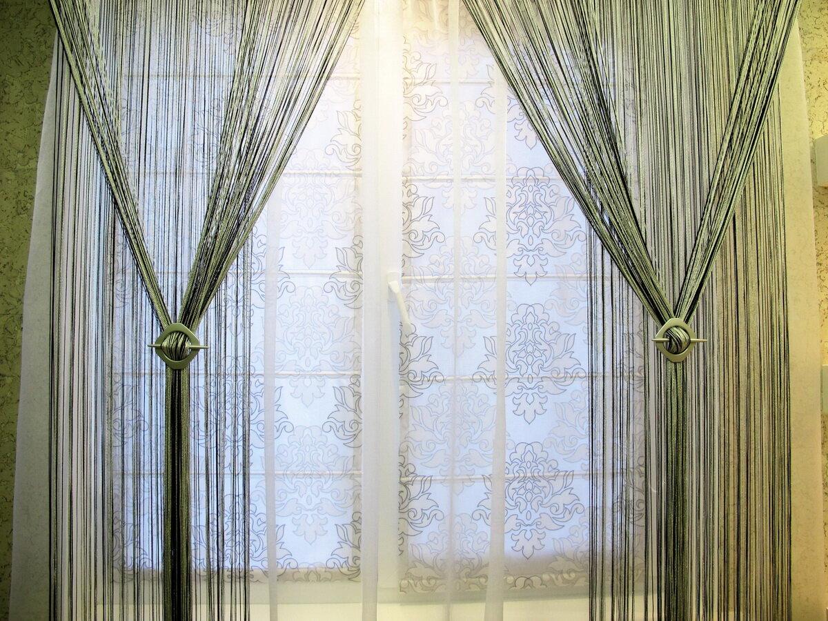 Современный тюль в интерьере: фото, виды, цвета, сочетание с другими шторами