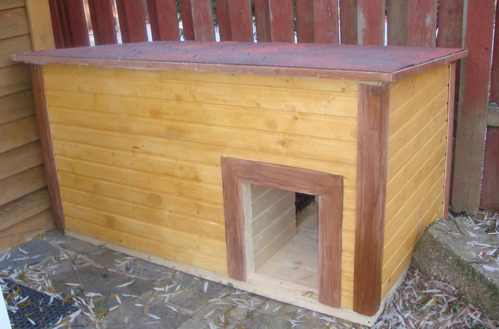 Как сделать и утеплить будку для собаки