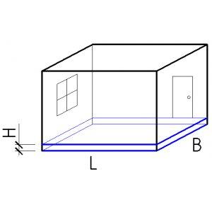 Как высчитать площадь комнаты в квадратных метрах: инструкция по измерению жилой комнаты, ванной, кухни, балкона и гаража