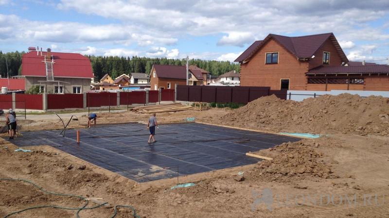 Строительство дома на участке с чего начать